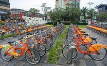 Dịch vụ xe đạp công cộng tại Đài Loan. Ảnh: Vietnamplus