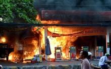 Một vụ cháy xảy ra trung tuần tháng 12/2016 tại cây xăng ở đường Quang Trung, quận Gò Vấp (TP.HCM).