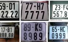 Bộ Tư pháp: Chưa thể đấu giá biển số xe
