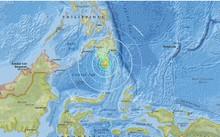 Khu vực xảy ra động đất ở phía nam Philippines. Đồ họa: USGS.