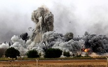 Liên minh quốc tế bắt đầu không kích Nhà nước Hồi giáo từ năm 2014. Ảnh minh họa: AFP.