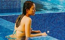 Văn Mai Hương vẫn chưa hết hoảng hồn sau cú tai nạn suýt chết đuối khi đi nghỉ lễ.