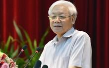 Tổng Bí thư Nguyễn Phú Trọng mong muốn các đồng chí nguyên lãnh đạo Đảng, Nhà nước bằng kinh nghiệm, trí tuệ, trách nhiệm và tâm huyết của mình với sự nghiệp cách mạng tiếp tục đóng góp ý kiến cho Đảng, cho đất nước.
