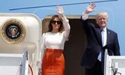 Donald Trump bắt đầu chuyến công du đầu tiên