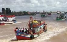 Tàu trọng tải 1000 tấn chìm nghỉm sau cú va chạm với tàu dầu