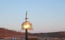 Một vụ thử tên lửa của Triều Tiên. Ảnh: KCNA