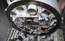 Thiết bị đào ngầm robot TBM tiến hành đào đường hầm tuyến Bến Thành-Suối Tiên đường kính lên tới 6,79m. (Ảnh: FECON cung cấp)