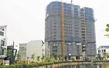 Dù có đông đảo lực lượng TTXD nhưng quận Nam Từ Liêm vẫn để xảy ra công trình 18 tầng xây dựng không phép.