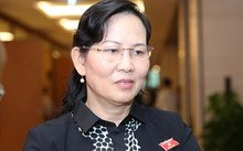Bà Lê Thị Thủy - Phó chủ nhiệm Ủy ban Kiểm tra Trung ương.