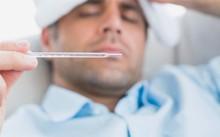 Khi bị sốt cao trên 39 độ C cần đi khám bệnh.