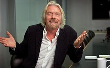 Richard Branson từng mắc chứng khó đọc với thành tích yếu kém. Ảnh: Inc