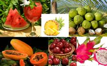 Trái cây giải nhiệt mùa nóng