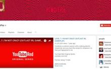 Pewdiepie kênh youtube nổi tiếng chuyên về game với hơn 55 triệu lượt theo dõi. Ảnh chụp màn hình.