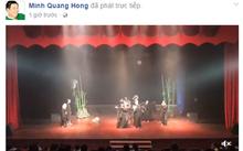 Minh Béo bị lên án khi ngang nhiên trở lại sân khấu. Ảnh chụp màn hình.