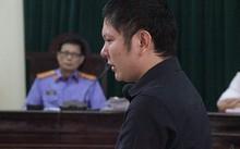 Bị cáo Tiến tại phiên xử sơ thẩm gần một tháng trước.