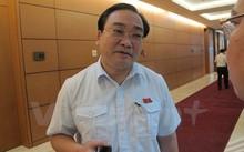 Bí thư Thành ủy Hà Nội Hoàng Trung Hải. (