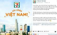 Thông tin công bố việc khai trương của 7-Eleven Việt Nam.