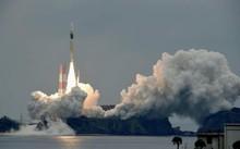 Một chiếc tên lửa H-IIA, mang theo một vệ tinh Michibiki 2 vào ngày 1/6.