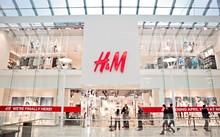 Mô hình một cửa hàng H&M tại nước ngoài.