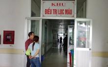 Khu điều trị lọc máu tại Bệnh viện Đa khoa tỉnh Hòa Bình
