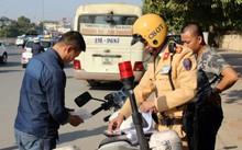 Cảnh sát giao thông sẽ được trang bị smartphone để xử lý vi phạm giao thông