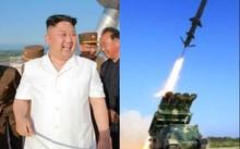 Chủ tịch Kim Jong-un giám sát quá trình thử tên lửa đất đối hạm hôm 8/6. Ảnh: Rodong Sinmun
