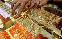 Giá vàng trong nước đi xuống phiên cuối tuần