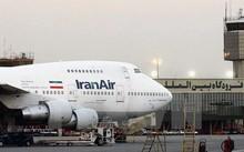 Máy bay Boeing 747 của Hãng Iran Air tại sân bay quốc tế Mehrabad ở Tehran. (Ảnh: AFP/TTXVN)