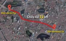 Hà Nội tính chi gần 7.800 tỷ đồng xây 2,2 km đường