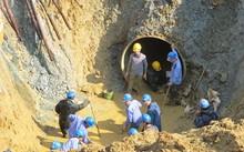Đường nước sông Đà về Hà Nội liên tục xảy ra sự cố.