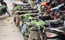 Hà Nội thu hồi xe máy cũ nát vào đầu 2018