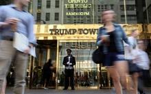 Tòa nhà Trump Tower ở thành phố New York - Ảnh: Reuters