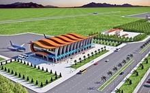 Phối cảnh sân bay Phan Thiết.