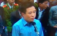 Bị cáo Hà Văn Thắm trả lời thẩm vấn tại phiên tòa hồi tháng 3/2017, sau đó tòa đã hoàn trả hồ sơ yêu cầu điều tra bổ sung