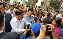 Ông Nguyễn Đức Chung - Chủ tịch UBND TP Hà Nội trong lần về đối thoại với bà con xã Đồng Tâm