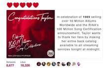 """Taylor Swift gây """"sóng gió"""" trong ngày trở lại của Katy Perry."""