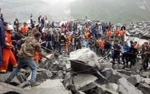 Lở đất ở Trung Quốc, 100 người có thể bị chôn vùi