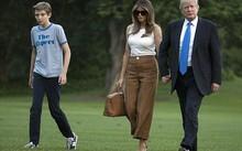 Đệ nhất phu nhân Melania và con trai dọn tới Nhà Trắng vào đầu tháng 6. (Ảnh: AP)