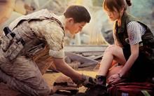 Song Joong Ki và Song Hye Kyo trong bộ phim Hậu duệ mặt trời.