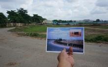 Khu vực nghi có ngôi mộ tập thể khoảng 600 liệt sĩ ở phía Tây sân bay Tân Sơn Nhất. Ảnh: Ông Nguyễn Xuân Thắng cung cấp