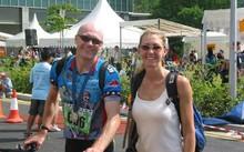 Hallam và vợ Pele nghỉ dạy từ 2014 để đi du lịch vòng quanh thế giới. Ảnh: CNBC