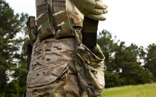 ứa hộp đạn rỗng hay được lính Mỹ sử dụng. Ảnh: WATM.