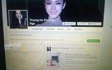 Trang Facebook mang tên Trương Hồ Phương Nga