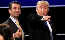 Tổng thống Donald Trump và con trai Donald Trump Jr. (Ảnh: Reuters)