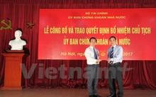 Lễ trao Quyết định bổ nhiệm ông Trần Văn Dũng giữ chức vụ Chủ tịch Ủy ban Chứng khoán Nhà nước, ngày 12/7.
