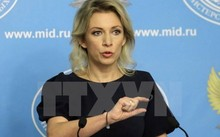 Người phát ngôn Bộ Ngoại giao Nga Maria Zakharova. (Nguồn: Sputnik/TTXVN)