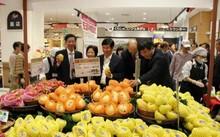 Xoài Cát Chu được bày bán tại Nhật. Ảnh: Bộ Công Thương