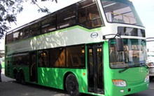 Hai chiếc xe buýt 2 tầng ở TP HCM sẽ dừng hoạt động vào cuối năm nay.