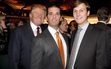 Từ trái qua phải: Tổng thống Donald Trump, Donald Trump Jr. và Jared Kushner (Ảnh: Getty)