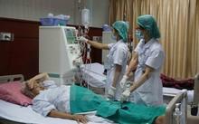 Bệnh nhân điều trị suy thận tại một bệnh viện.